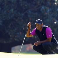 チャージなるか(提供:Augusta National Golf Club) 2021年 マスターズ 3日目 タイガー・ウッズ