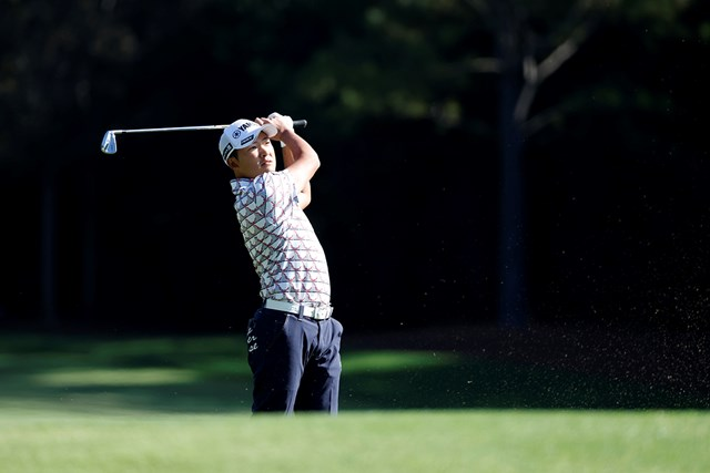 2021年 マスターズ 3日目 今平周吾 今平周吾は3日間オーバーパーなしのラウンドを続けた(提供:Augusta National Golf Club)