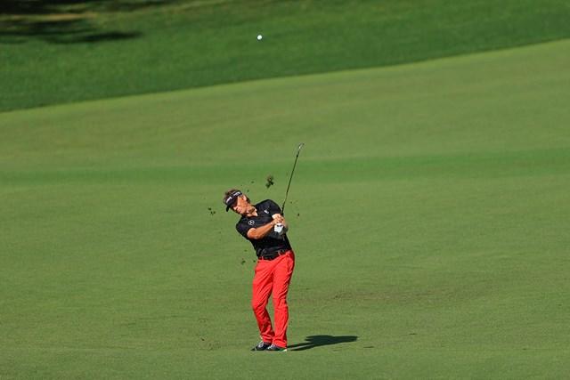 2021年 マスターズ 3日目 ベルンハルト・ランガー ランガーの熟練技は健在だ(提供:Augusta National Golf Club))