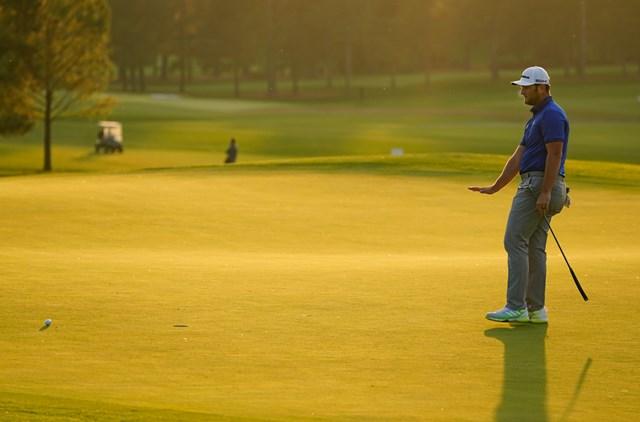 2021年 マスターズ 3日目 ジョン・ラーム 最終日はミラクルに期待。写真はジョン・ラーム(提供:Augusta National Golf Club)