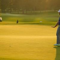最終日はミラクルに期待。写真はジョン・ラーム(提供:Augusta National Golf Club) 2021年 マスターズ 3日目 ジョン・ラーム