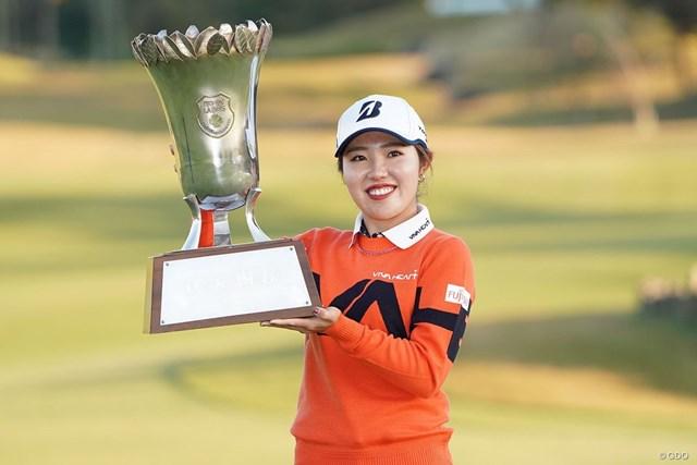 2020年 伊藤園レディスゴルフトーナメント 最終日 古江彩佳 古江彩佳がプレーオフを制した