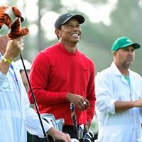 虎(提供:Augusta National Golf Club) 2021年 マスターズ 最終日 タイガー・ウッズ