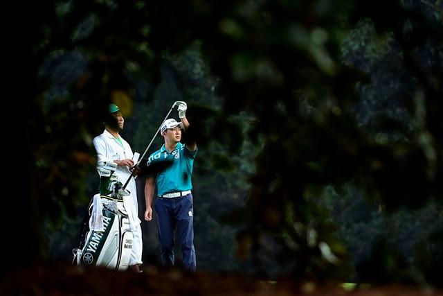 2021年 マスターズ 4日目 今平周吾 今平周吾はオーガスタで初めて4日間を戦った(提供:Augusta National Golf Club)