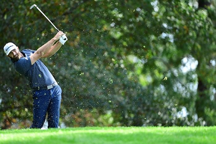 ダスティン・ジョンソン(提供:Augusta National Golf Club) 2021年 マスターズ 4日目 ダスティン・ジョンソン