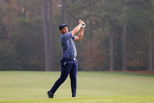 2021年 マスターズ 最終日 ブライソン・デシャンボー 前評判の高かったデシャンボーだが計算できない事態も(提供:Augusta National Golf Club)