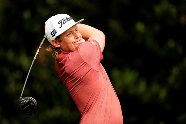 2021年 マスターズ 最終日 キャメロン・スミス 歴史に残る記録を達成したキャメロン・スミス(提供:Augusta National Golf Club)