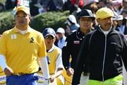 2010年 つるやオープン 最終日 片山晋呉、小田孔明、すし石垣