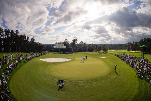 パトロン不在で関係者だけが優勝の瞬間を見守った史上初の秋の「マスターズ」(提供:Augusta National Golf Club)