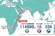 2020年 ヨハネスブルグオープン 事前 川村昌弘マップ