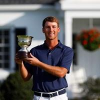 マスターズでローアマに輝いた(提供:Augusta National Golf Club) 2021年 マスターズ 最終日 アンディ・オグルトゥリー