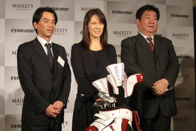 「マルマン マジェスティ ヴァンキッシュVR」の発表に契約プロのヤング・キムが会場に駆けつけた