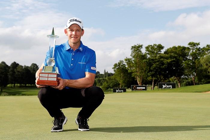 ヨアキムB・ハンセンがツアー初勝利(Luke Walker/Getty Images) 2020年 ヨハネスブルグオープン 4日目 ヨアキムB・ハンセン