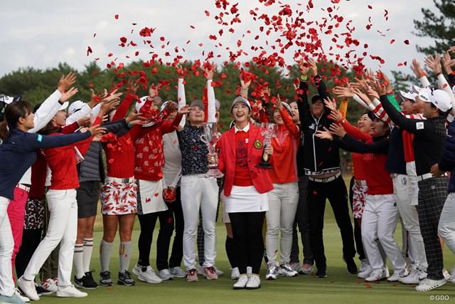 2019年 LPGAツアーチャンピオンシップリコーカップ 最終日 ペ・ソンウ 三つどもえの賞金女王争いで盛り上がった前年はペ・ソンウが制した