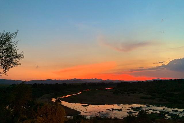 2020年 アルフレッド・ダンヒル選手権 事前 南アフリカの夕日 南アフリカの美しい風景