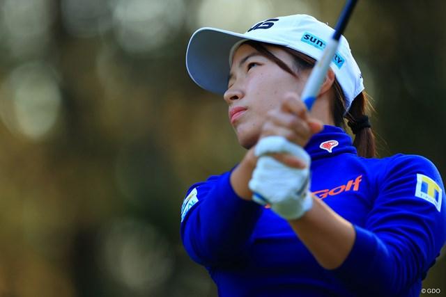 2020年 LPGAツアーチャンピオンシップリコーカップ 初日 渋野日向子 渋野日向子は2020年の国内最終戦に出場