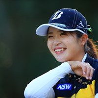 笑顔の先に 2020年 LPGAツアーチャンピオンシップリコーカップ 初日 三ヶ島かな