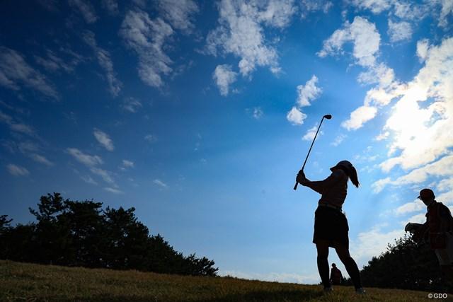 2020年 LPGAツアーチャンピオンシップリコーカップ 初日 古江彩佳 本日は晴天なり