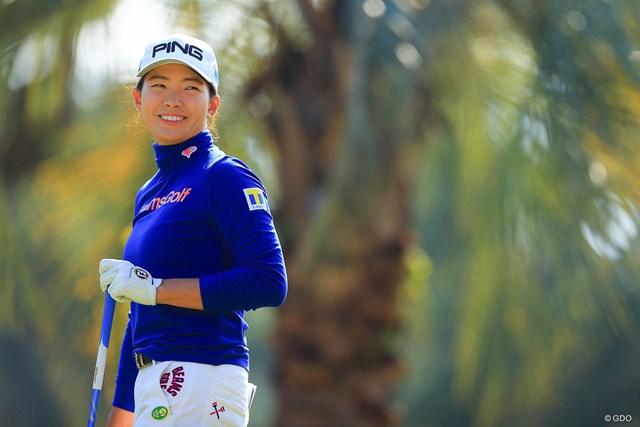 2020年 LPGAツアーチャンピオンシップリコーカップ 初日 渋野日向子 「落ち着かなかった」と振り返りつつ、1打差2位発進