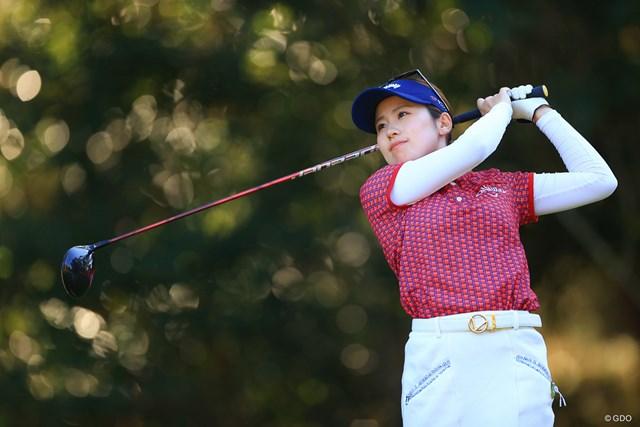 2020年 LPGAツアーチャンピオンシップリコーカップ 2日目 西村優菜 「パターも完璧」と自信に満ちたラウンドとなった