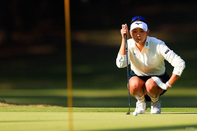 2020年 LPGAツアーチャンピオンシップリコーカップ 2日目 原英莉花 メジャー連勝へ首位を快走。好調なパッティングには裏付けがある