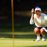 メジャー連勝へ首位を快走。好調なパッティングには裏付けがある 2020年 LPGAツアーチャンピオンシップリコーカップ 2日目 原英莉花