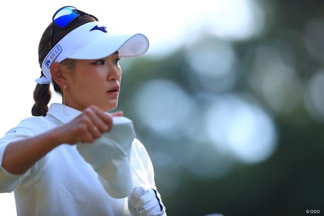 2020年 LPGAツアーチャンピオンシップリコーカップ 2日目 原英莉花 今の原選手はこうなったら止められないよ