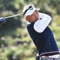 寒さに苦しみながらも首位を守った手嶋多一(提供:日本プロゴルフ協会) 2020年 いわさき白露シニアゴルフトーナメント 2日目 手嶋多一