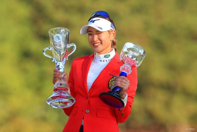 2020年 JLPGAツアーチャンピオンシップリコーカップ 最終日 原英莉花 メジャーで完全優勝を成し遂げた原英莉花