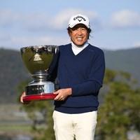 プレーオフで競り勝った溝口英二(提供:日本プロゴルフ協会) 2020年 いわさき白露シニアゴルフトーナメント 最終日 溝口英二