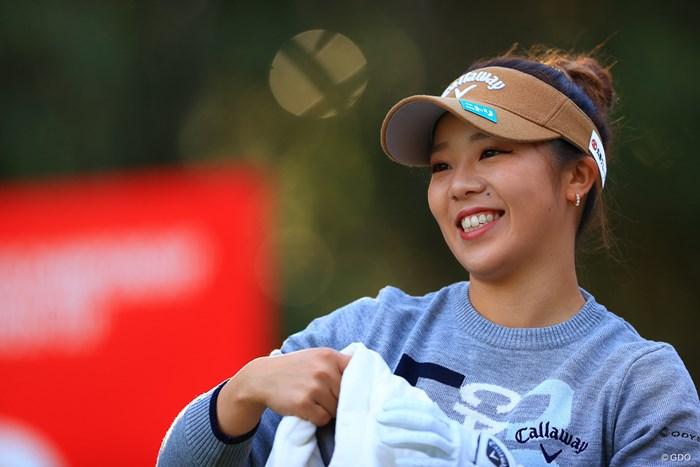 2020年笑顔で終わらそう 2020年 JLPGAツアーチャンピオンシップリコーカップ 4日目 田中瑞希
