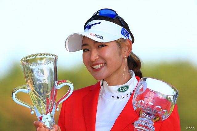 2020年 JLPGAツアーチャンピオンシップリコーカップ 4日目 原英莉花 久しぶりに日本人優勝