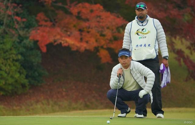 2020年 ゴルフ日本シリーズJTカップ 初日 池田勇太 池田勇太が6アンダー「64」で飛び出した
