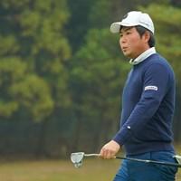 初出場とは思えない余裕な感じです。 2020年 ゴルフ日本シリーズJTカップ 初日 杉山知靖