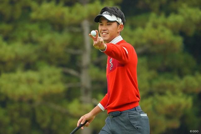 2020年 ゴルフ日本シリーズJTカップ 初日 阿久津未来也 17番、イーグルゲットでV!