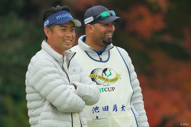 2020年 ゴルフ日本シリーズJTカップ  初日 池田勇太 コロナ禍で奮闘した池田勇太。2020年最終戦で最高のスタートを切った