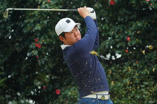 2020年 ゴルフ日本シリーズJTカップ 初日 杉山知靖 今季賞金ランキング32位と最後の1枠で滑り込み出場の杉山知靖が好発進