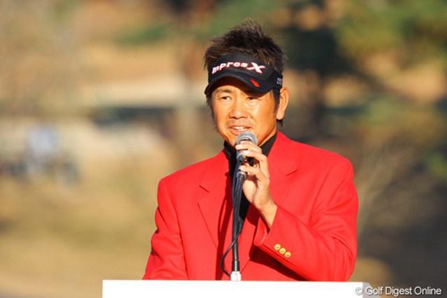 2020年 藤田寛之 1打差で逃げ切った藤田寛之(写真は2010年ゴルフ日本シリーズJTカップ)