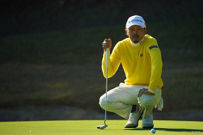 首位とは1打差。 2020年 ゴルフ日本シリーズJTカップ 2日目 岩田寛