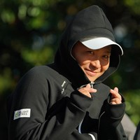 相変わらず可愛い池村プロです。 2020年 ゴルフ日本シリーズJTカップ 2日目 池村寛世