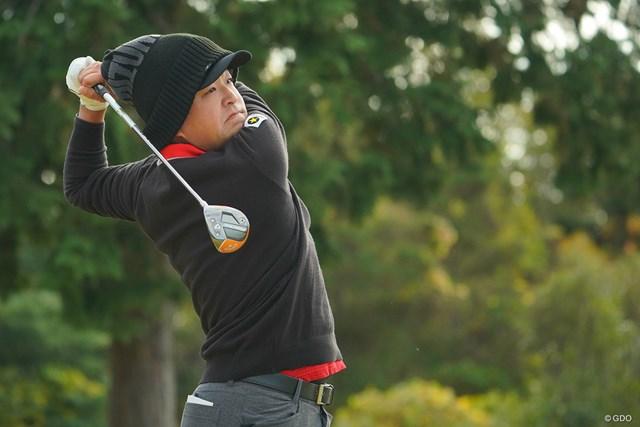2020年 ゴルフ日本シリーズJTカップ 2日目 時松隆光 イカ帽が似合い過ぎです。