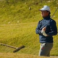 最終組でのラウンドも、ノーバーディの一日に。 2020年 ゴルフ日本シリーズJTカップ 2日目 市原弘大