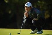 2020年 ゴルフ日本シリーズJTカップ 2日目 金谷拓実