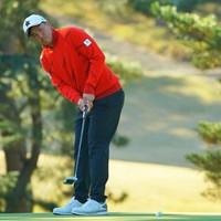 小斉平優和が11月「三井住友VISA太平洋マスターズ」に続いて首位タイで週末を迎える 2020年 ゴルフ日本シリーズJTカップ  2日目 小斉平優和