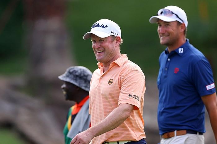ジェイミー・ドナルドソンが首位タイに浮上した(Richard Heathcote/Getty Images) 2020年 南アフリカオープン 2日目 ジェイミー・ドナルドソン
