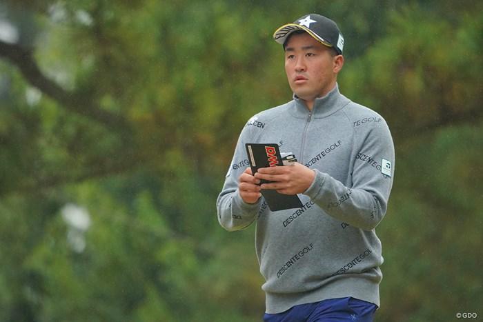 明日も上がり3ホールが勝負か。 2020年 ゴルフ日本シリーズJTカップ 3日目 小斉平優和