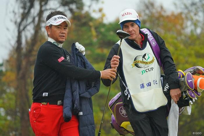 バックナインで粘れず。10位タイに後退。 2020年 ゴルフ日本シリーズJTカップ 3日目 藤田寛之