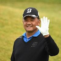 初の賞金タイトルを獲得した寺西明(提供:日本プロゴルフ協会) 2020年 金秀シニア 沖縄オープンゴルフトーナメント  最終日 寺西明