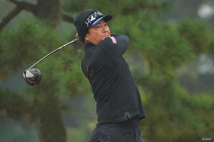 難コンディションでさすがの対応力を発揮した谷原秀人 2020年 ゴルフ日本シリーズJTカップ 3日目 谷原秀人