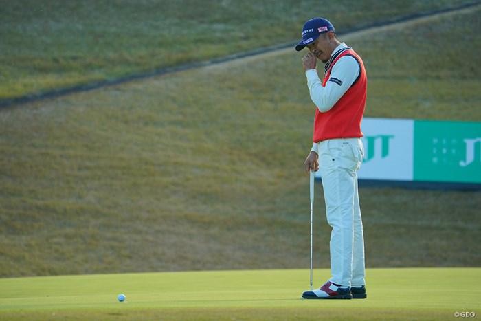 18番、パーセーブならず。 2020年 ゴルフ日本シリーズJTカップ 最終日 岩田寛